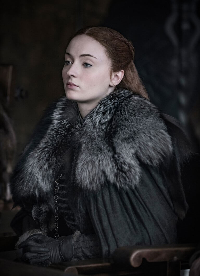 Sansa Stark - Game of Thrones Nisan'da başlayacak.